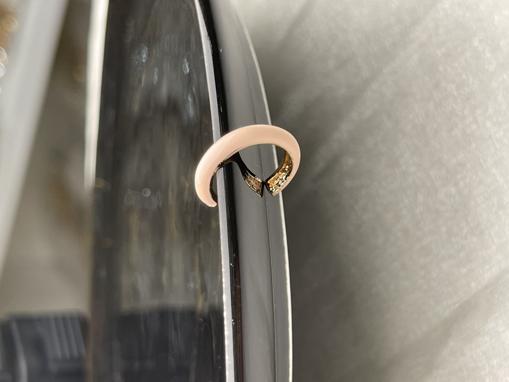 Mineli kıkırdak küpe-8068 resmi